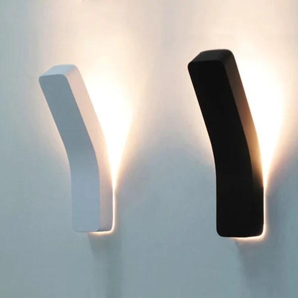 Buy Minimalist Modern Led Bend Wall Light At Lifeix Design