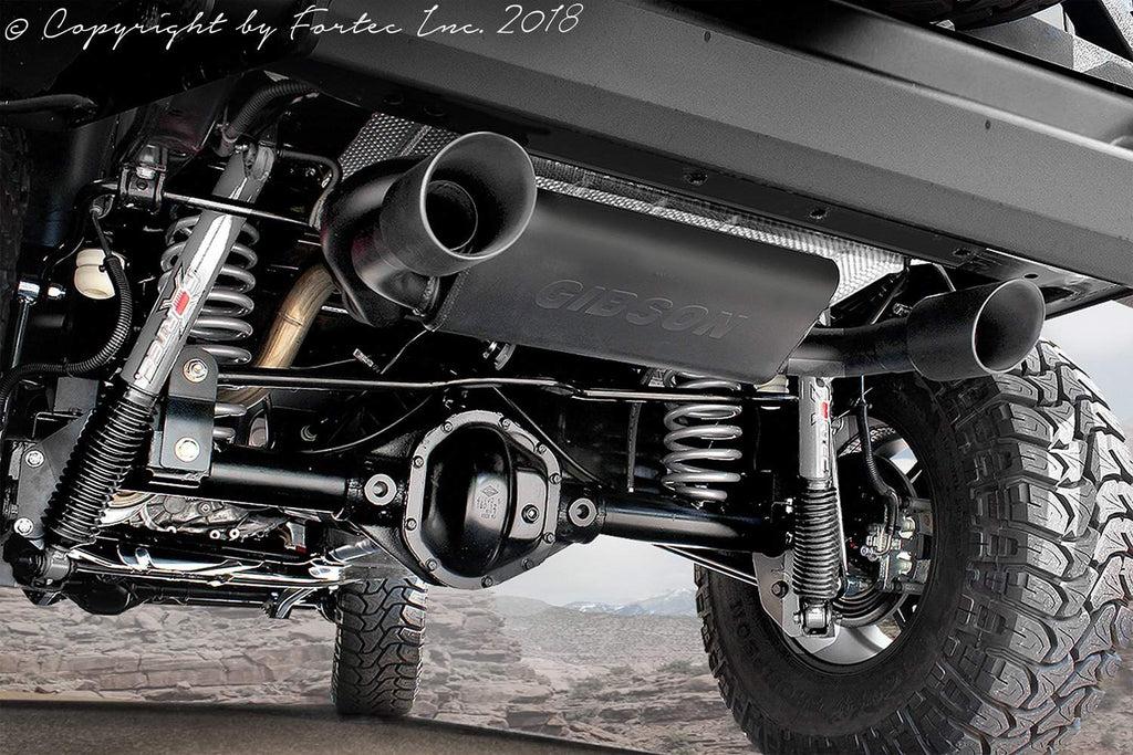 jeep wrangler dual exhaust