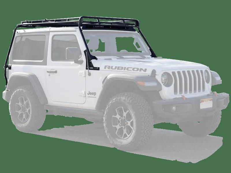gobi roof rack stealth for 18 up jeep wrangler jl jl unlimited