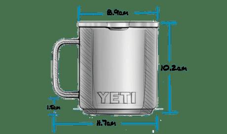 10 oz Mug with Magslider Lid (295ml) Exterior