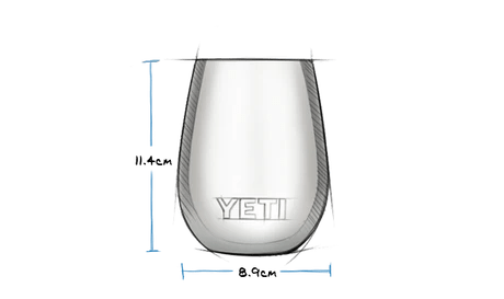 10 oz Wine Tumbler with Magslider Lid (295ml) Exterior