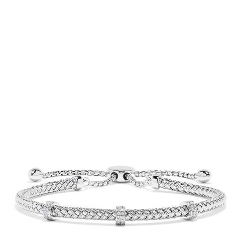 Effy 925 Sterling Silver Diamond Accent Bracelet, 0.15 TCW