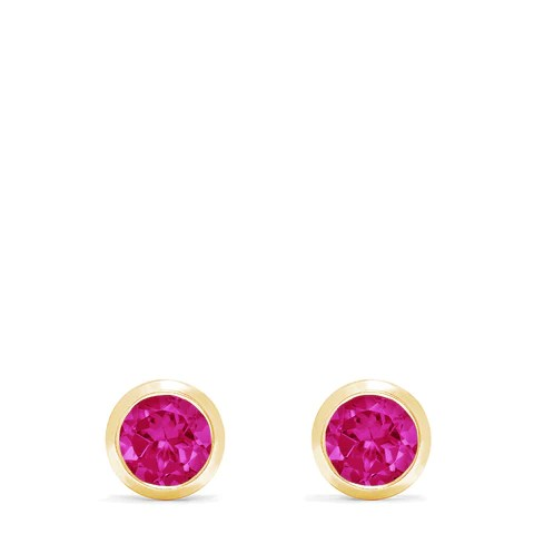 Effy Ruby Royale 14K Yellow Gold Ruby Stud Earrings, 1.14 TCW
