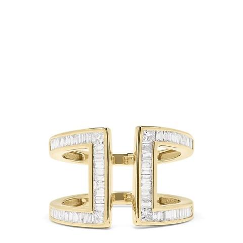 Effy D'Oro 14K Yellow Gold Diamond Ring, 0.82 TCW