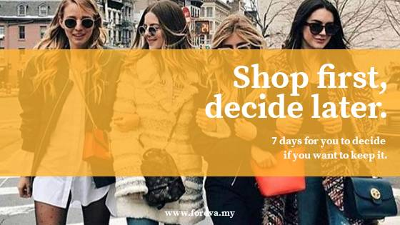 Foreva - 7 days Shop and Decide