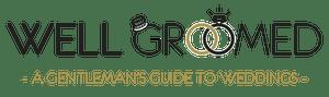 Well Groomed - A Gentleman's Guide To Weddings - Logo
