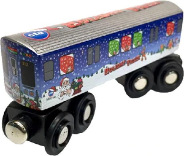 Cta Holiday Train Wooden Train