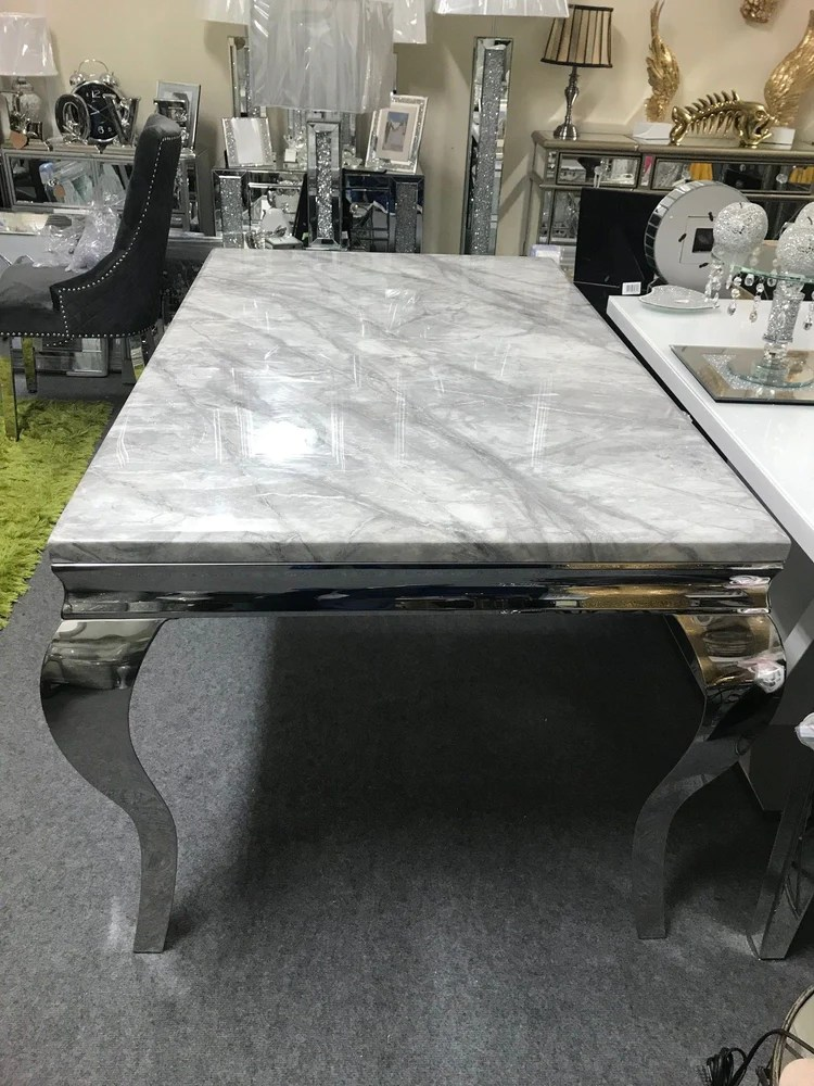 imperial grey marble coffee table