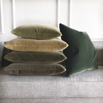 Emerald Green Luxury Mohair Decorative Pillow Verdiche Plankroad Home Outlet