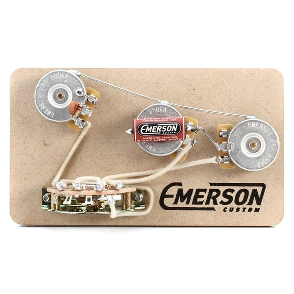 5WAY STRAT PREWIRED KIT – Emerson Custom