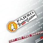 Pajero Rum Edition Sticker Decal 4x4 4wd Beer Ute Truck Offroad For Mi Street Fx Motorsport Graphics