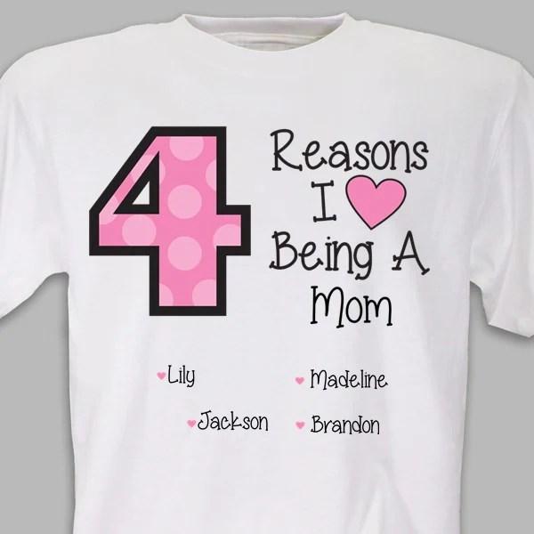 Download Reasons I LOVE Being a Mom Tshirt - avasplayroom