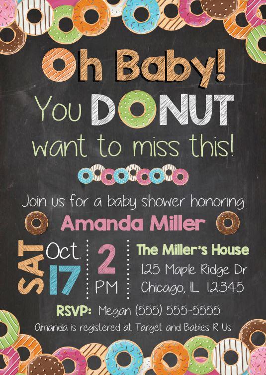 Walgreens Baby Shower Invitations