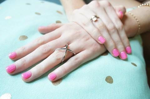 valentines day nail art