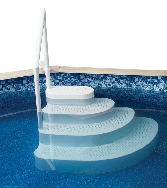 Wedding Cake Step In A Box Pool Steps     At Home Recreation  LLC Wedding Cake Step In A Box Pool Steps