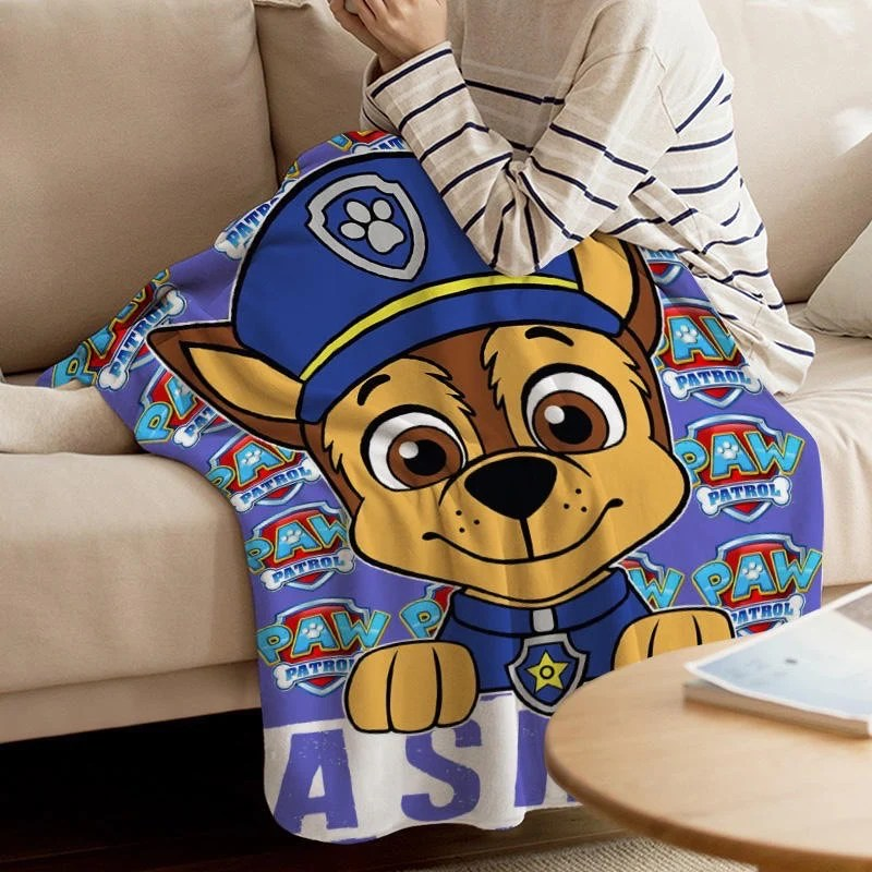 chase paw patrol custom blanket