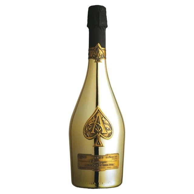 Armand De Brignac Ace Of Spades Gold Brut Champagne France Homedeliverywine Com