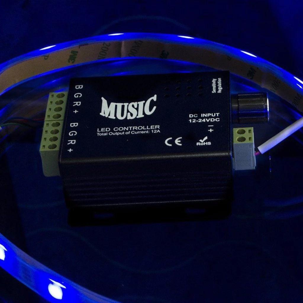 Led Light Music Controller