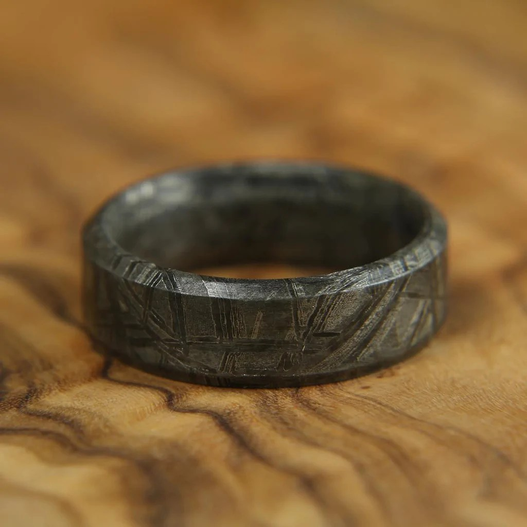 Meteorite Ring Patrick Adair Designs