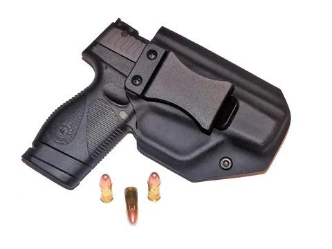 Aggressive Concealment PTIWBLP IWB Kydex Holster Taurus PT709/PT740 slim