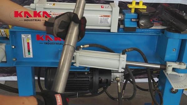 kaka industrial epb 2 hydraulic exhaust pipe tube bender heavy duty swager expander