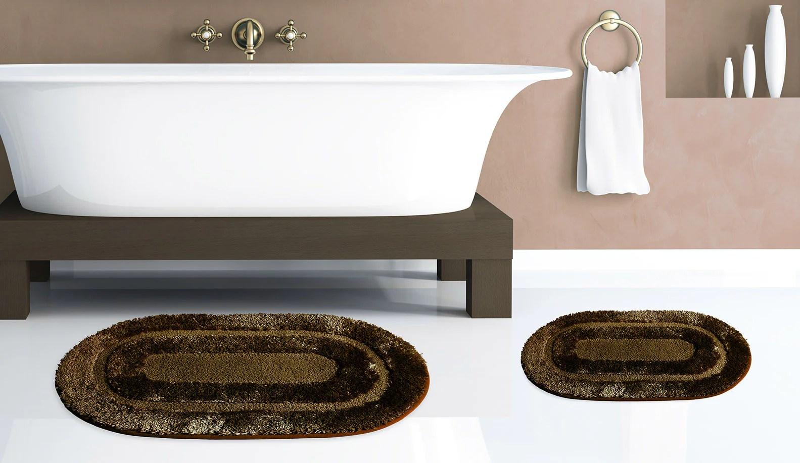 pearl 2pc bath rug set – marburn curtains