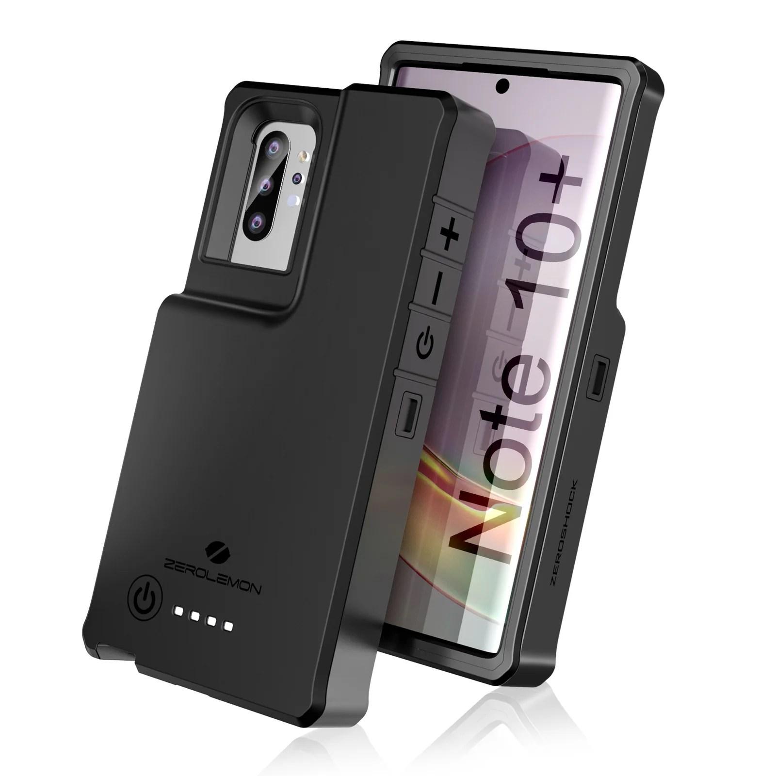 Galaxy Note 10 Plus Wireless Charging Battery Case 10000mah Zerolemon