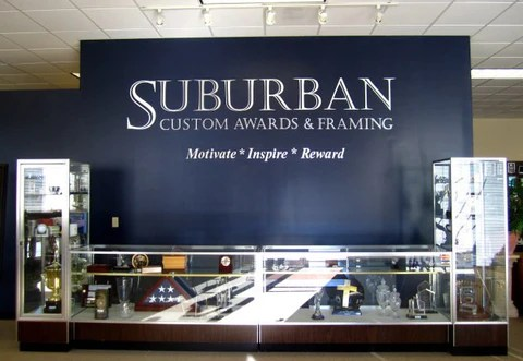 Suburban's Showroom