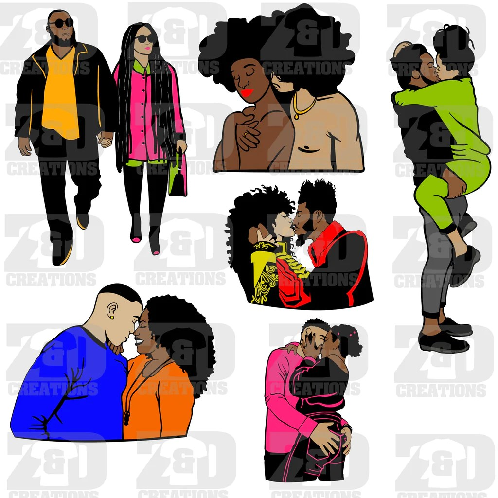 Download Black Love Bundle SVG - ZDCreations