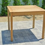 Outdoor Dining Table Teak Furniture Outdoor Table Willow Creek Designs