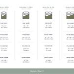 Complete Canadian Bed Sheet Sizes Guide Skylark Owl Linen