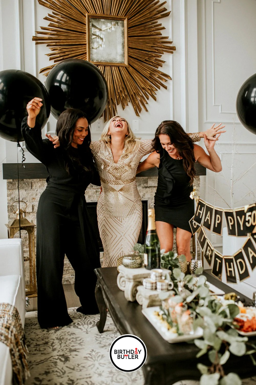 Part 2 Of 2 The Complete Guide For Planning A Woman S 50th Birthday Birthday Butler