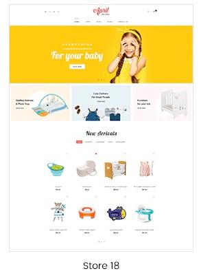 Shopify kid store