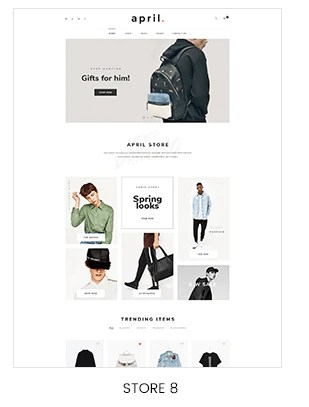 classic store shopify template