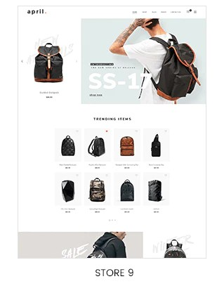 backpack store shopify