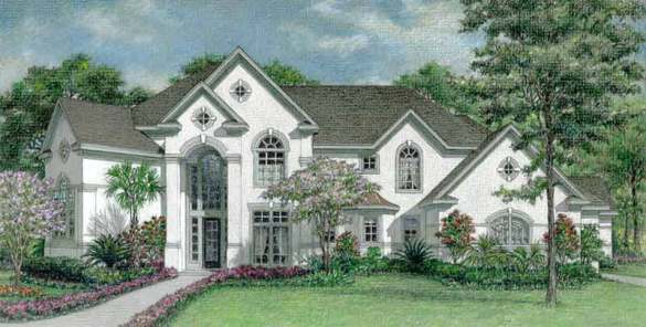 New Floor Plans for 3 Story Homes  Residential House Plan  Custom     Two Story House Plan D0100