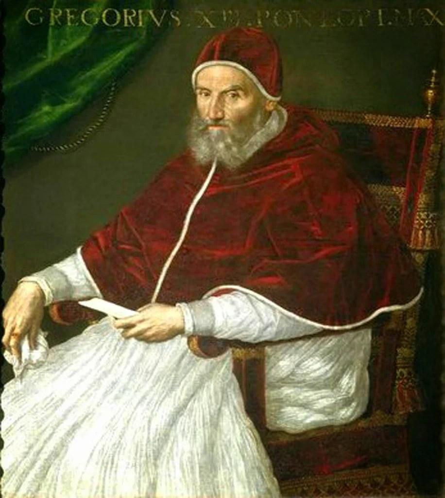 Imagini pentru pope Gregoire XIII photos
