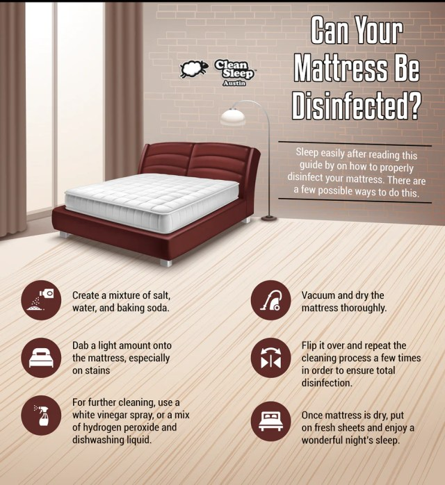 Can Your Mattress Be Disinfected? – Clean Sleep Austin