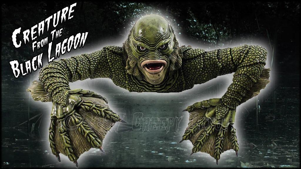 Creature From The Black Lagoon Wall Art Creepy Depot