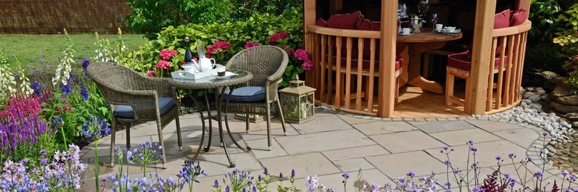 give a tired patio or paving slabs a