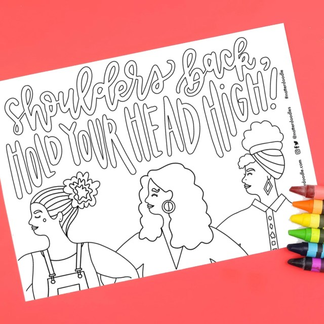 """Digital Downloads Tagged """"Coloring Pages"""" - NatterDoodle"""