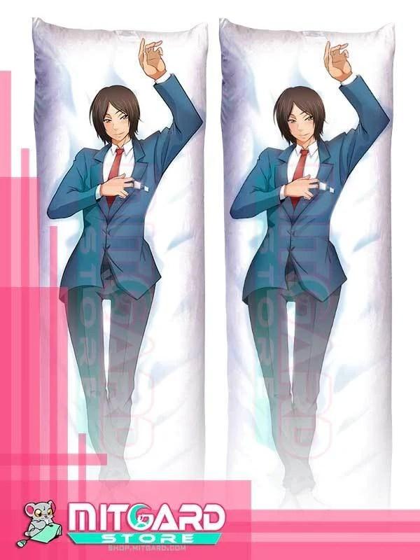 asuma mutsumi body pillow kiss him not me dakimakura