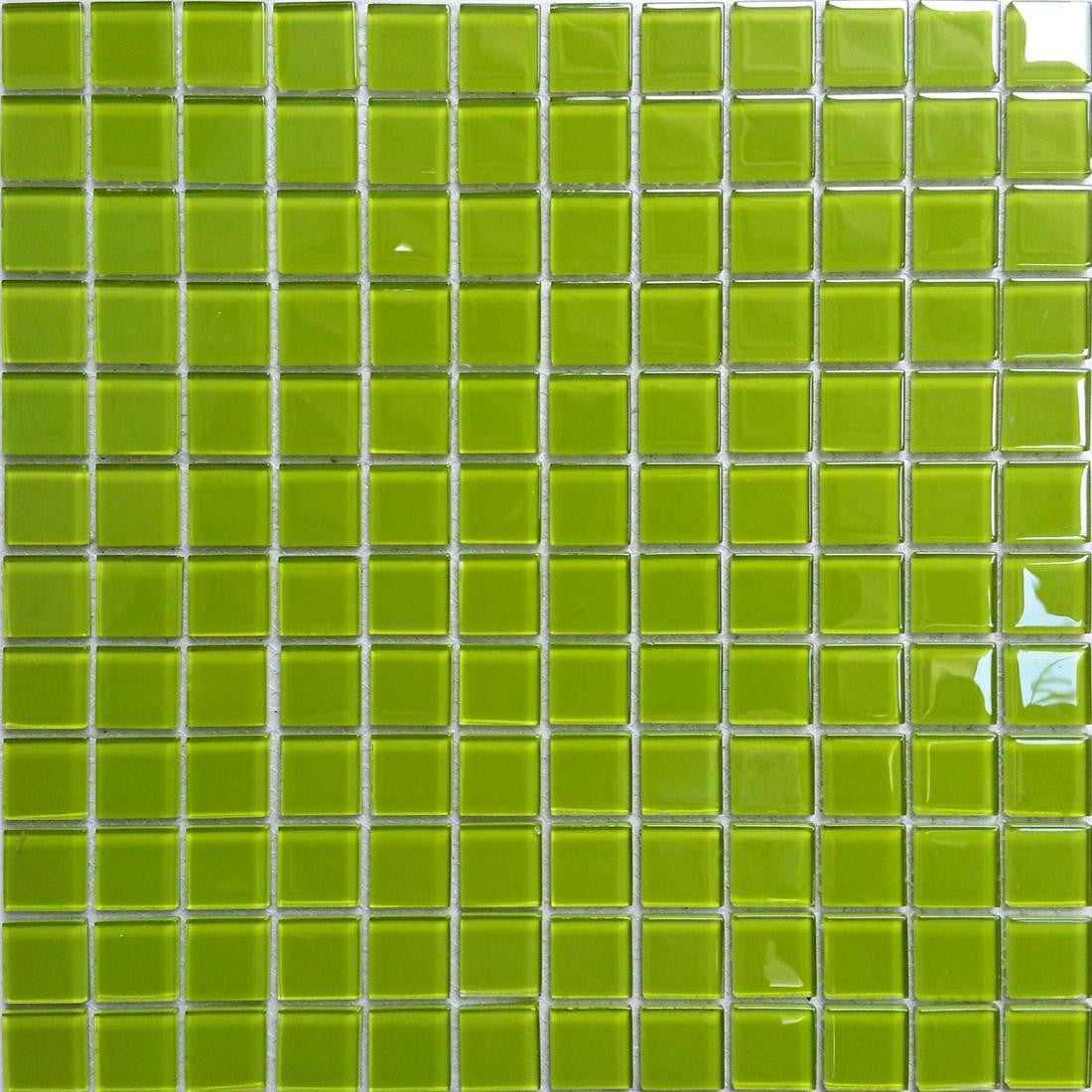 green glass mosaic tiles mt0023