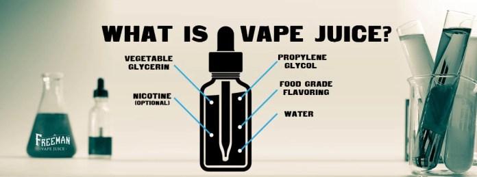 What is vape juice? — Freeman Vape juice