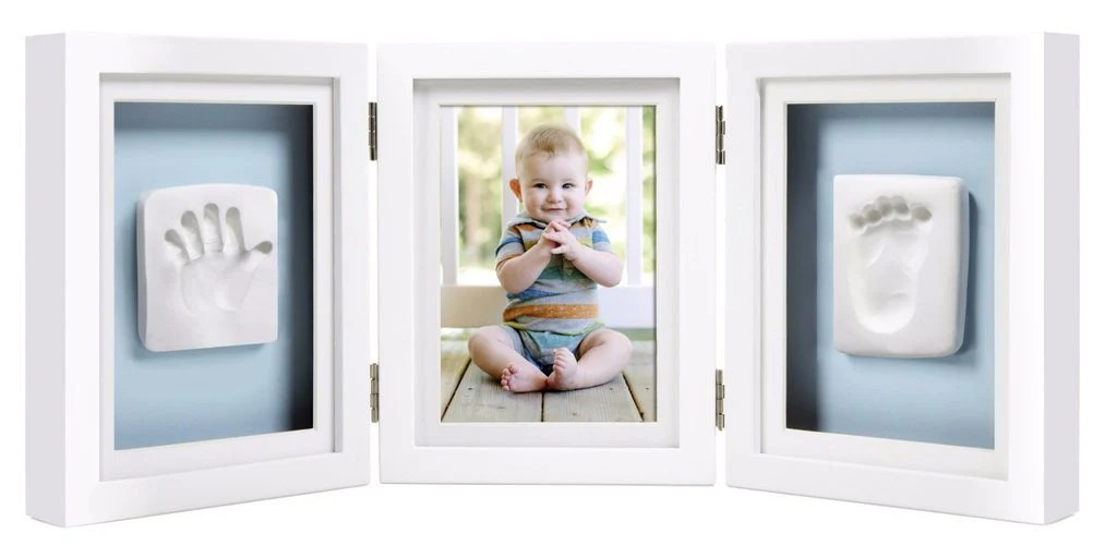 嬰兒相框Pearhead香港限定優惠 寶寶印記精品桌上相框 – 白色