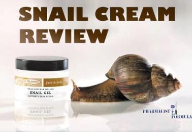 SNAIL CREAM REVIEW