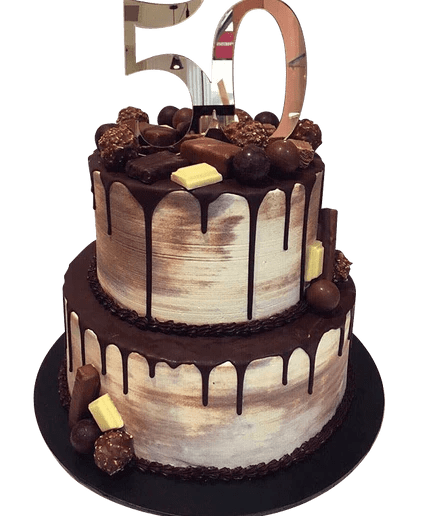 2 Tier Chocolate Galore Speciality Cake Cake Creations By Kate