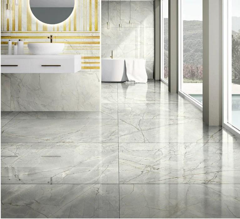 marmi invisible grey polished large format porcelain tile 24 x 48