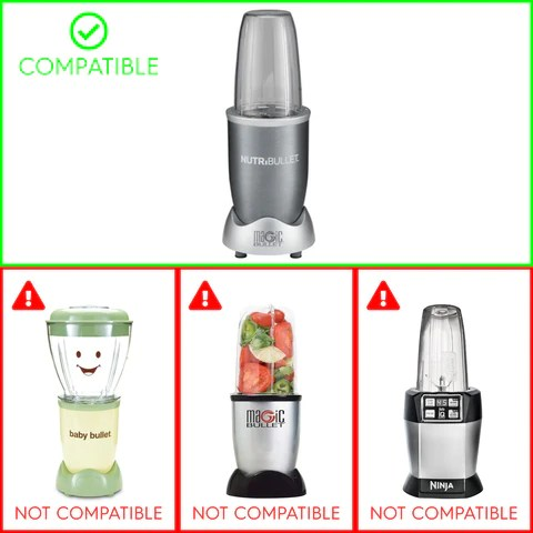 Compatible with NutriBullet NB-101B and NB-101S only