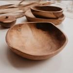 Willow Teak Bowl Nestling And Nook